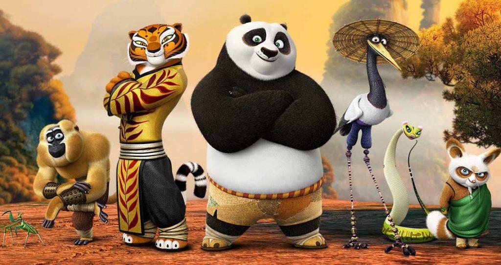 カンフー・パンダはどれで見れる?